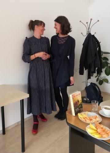 Andrea Hejlskov (vlevo) a Kristýna Maulenová